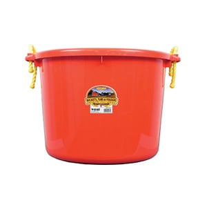 Little Giant 70Qt Red Muck Bucket